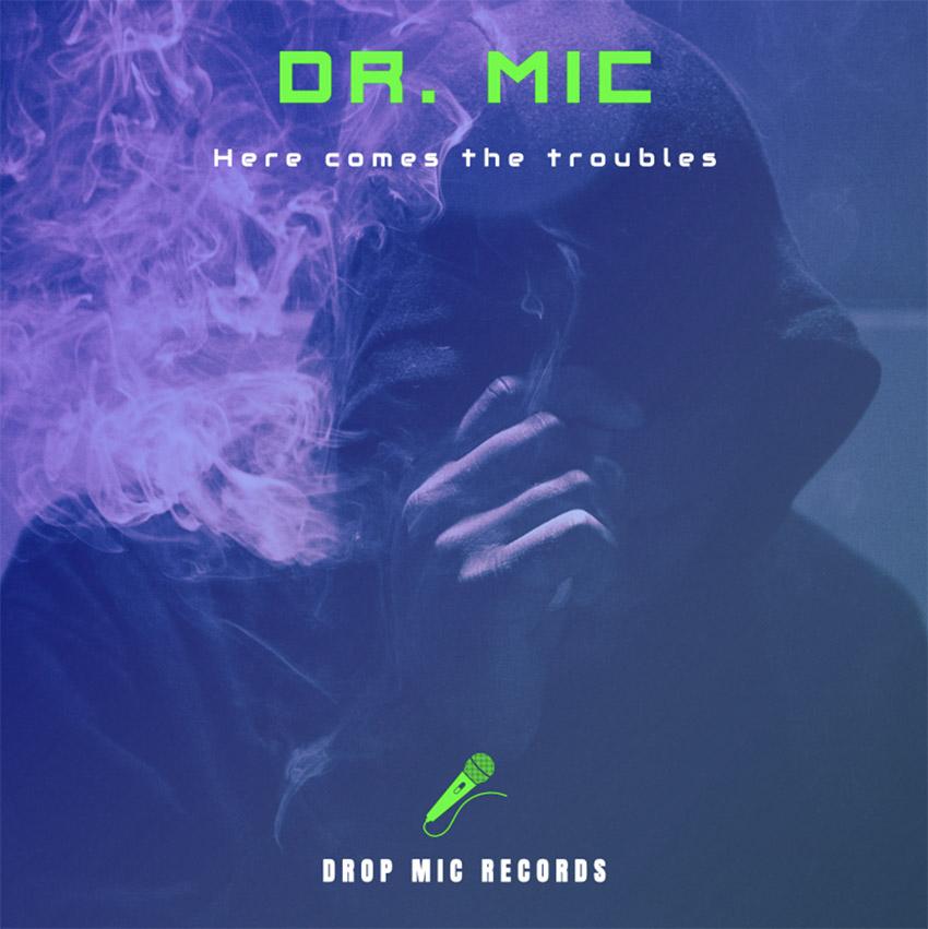 Chill Hip-Hop Album Cover Design Template