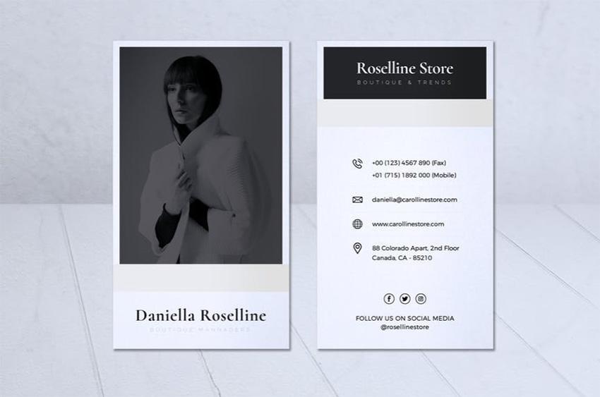 Modern Minimalist Business Card Vol 05