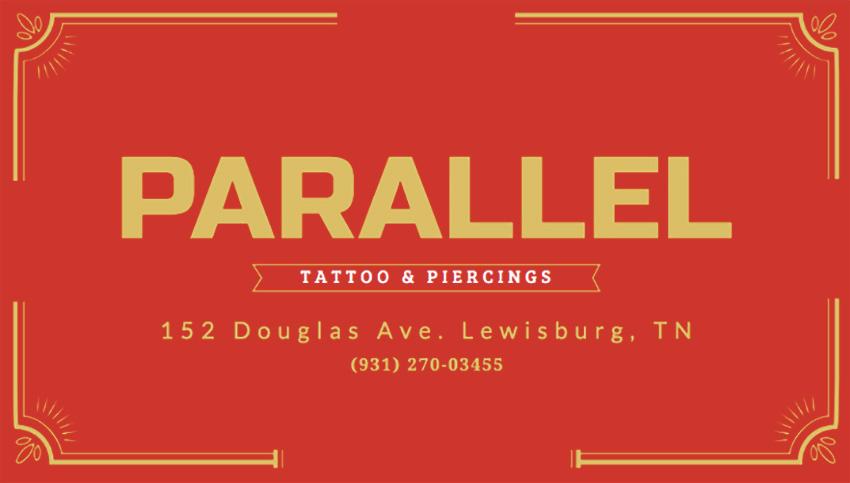 Online Business Card Maker for Tattoo Studio