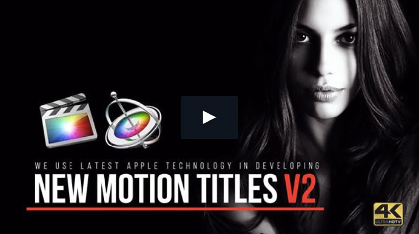 12 Amazing Apple Motion Title Templates
