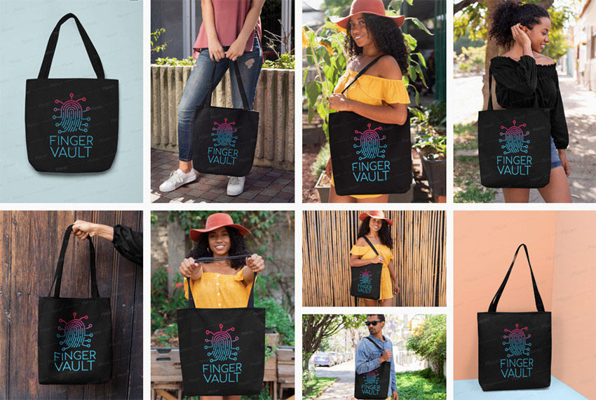 Placeits Tote Bag Mockups