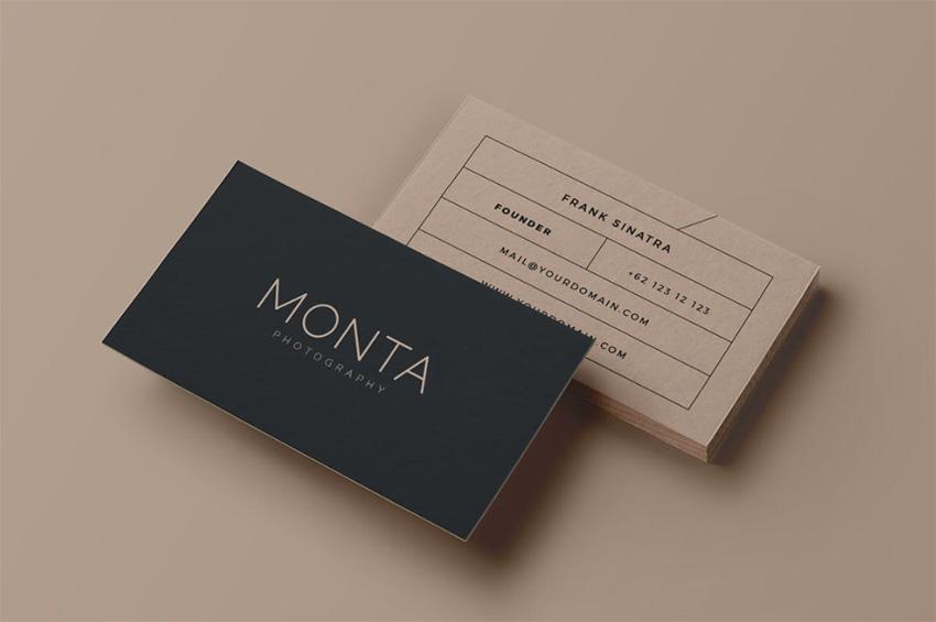 Monta Creative Business Card