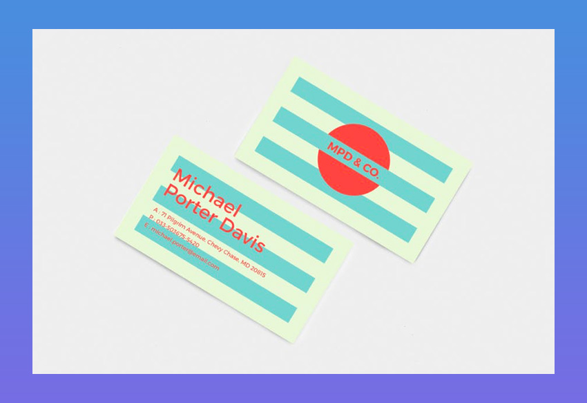 Professional and Creative Business Card 01