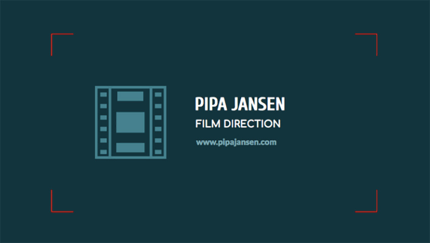 Business Card Generator for Movie Directors