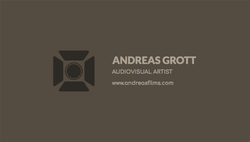 Business Card Maker for Audiovisual Artists