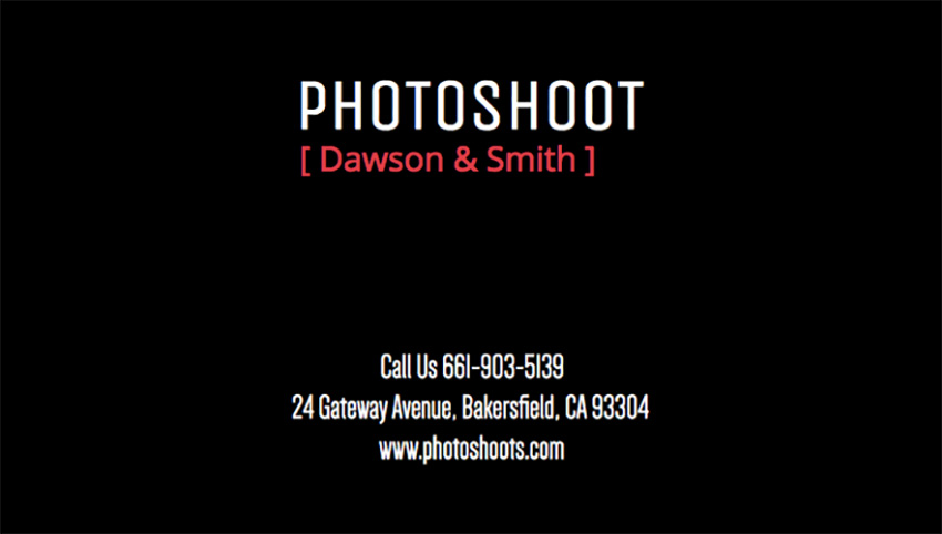 How to Create Awesome Photography Business Cards