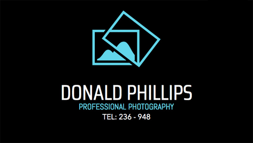 Professional Photography Studio Business Card Maker