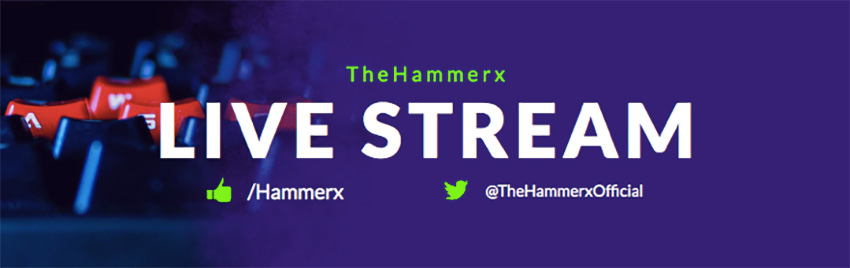 Live Stream Gaming Banner Maker for Twitch