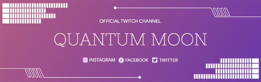 Twitch Banner Generator with Purple Gradients