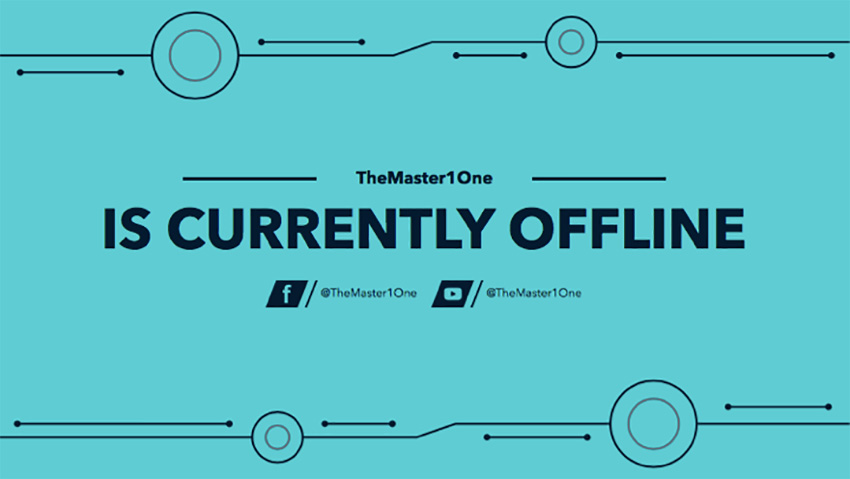 Twitch Offline Banner Maker for a Minimalist Twitch Account