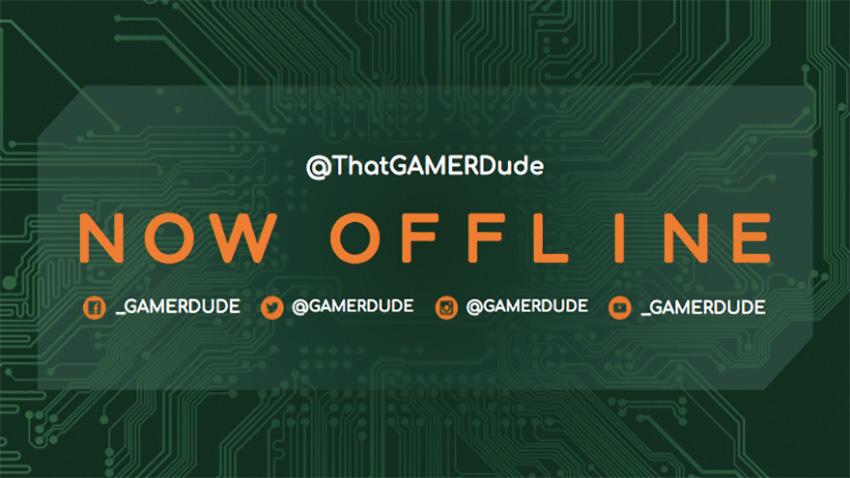 Twitch Offline Banner Maker with Microchip Clipart