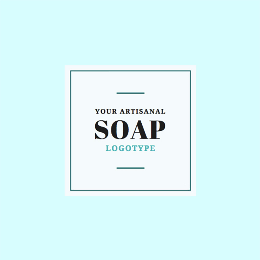 Handmade Soap Business Logo Maker