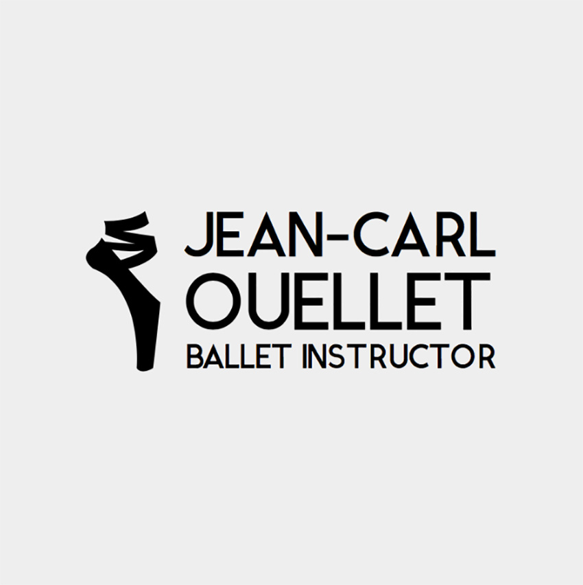 Logo Maker for Ballet Studios with Ballet Shoe Clipart