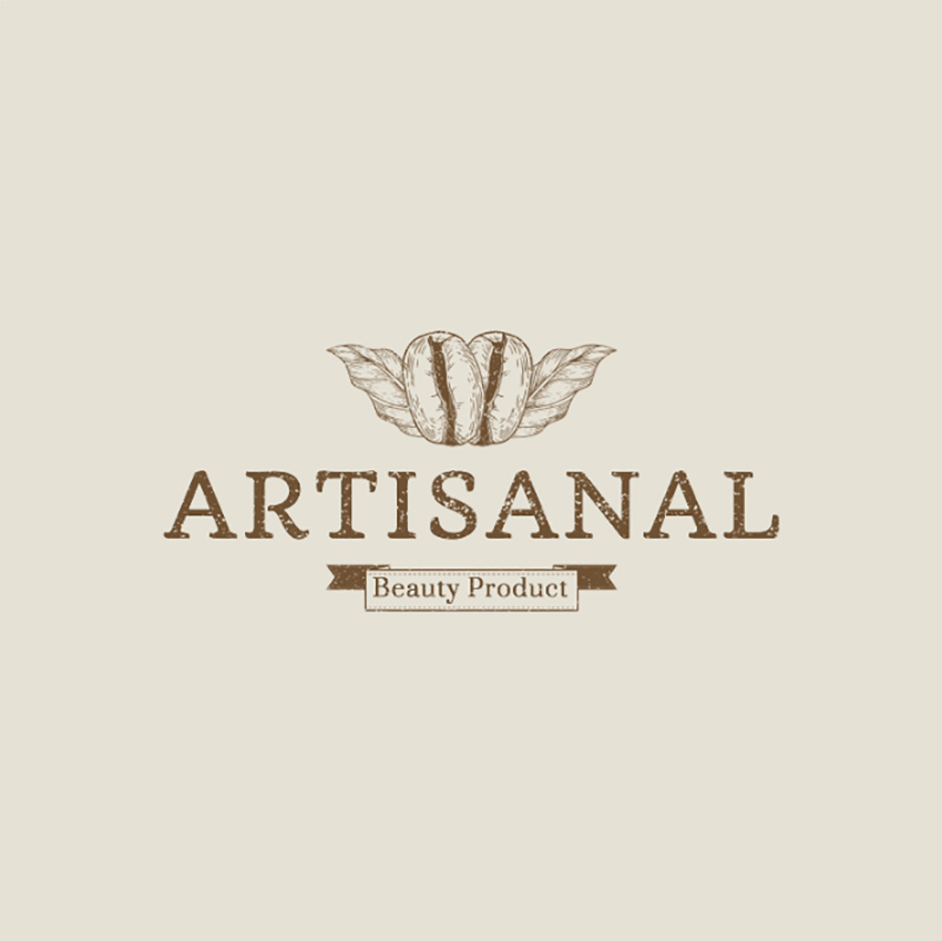 Simple Natural Beauty Brand Logo Maker