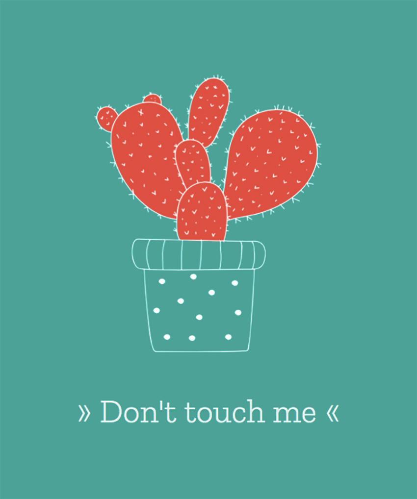 T-Shirt Design Maker with Cactus Illustration