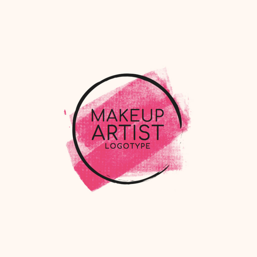Beauty Logo Template to Create a Makeup Artist Logo