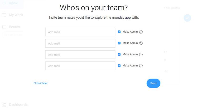 Add Team Members