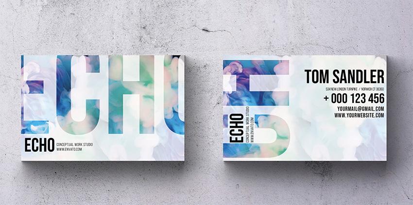 Echo Business Card Design