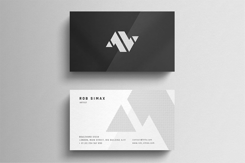 20 Best Business Card Design Templates Free Pro Downloads For 2019