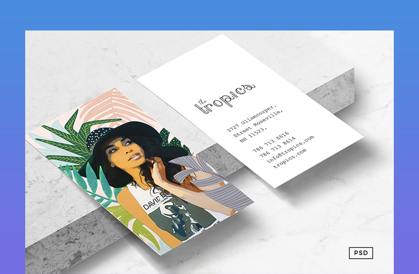 Travel  Lifestyle Business Card