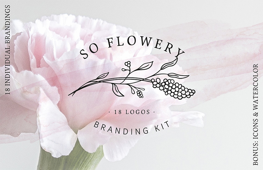 Image of So%20Flowery%20Branding%20Kit