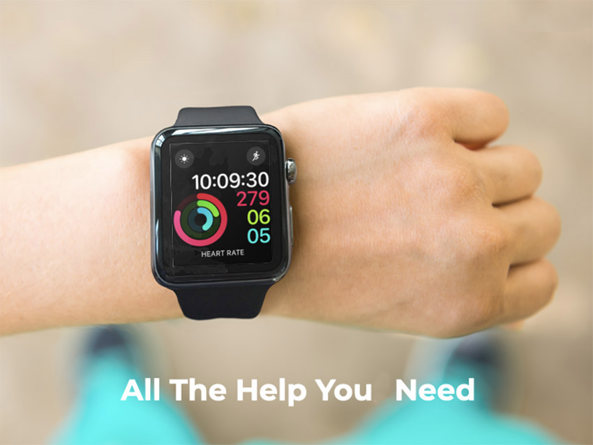 Download Your Smartwatch Mockup