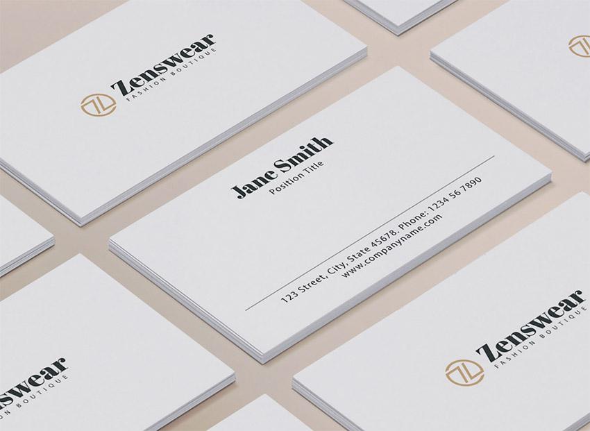 16 Free Premium Google Docs Business Card Templates To Make Great Designs