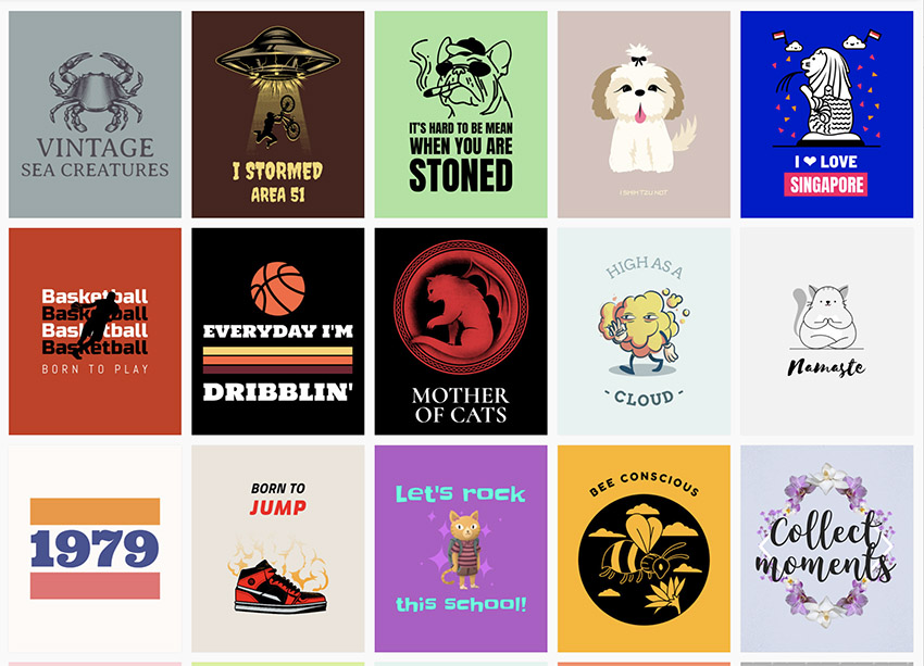 Select a Family T-Shirt Design You Like