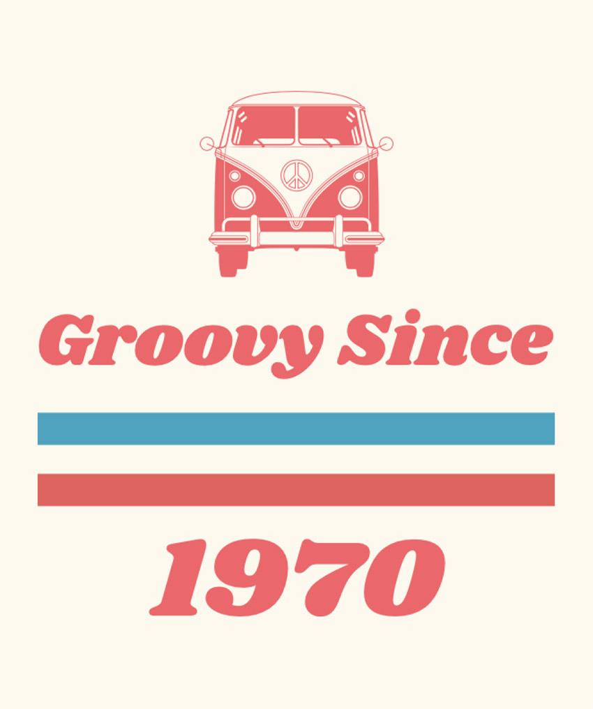 70s Retro T-Shirt Template