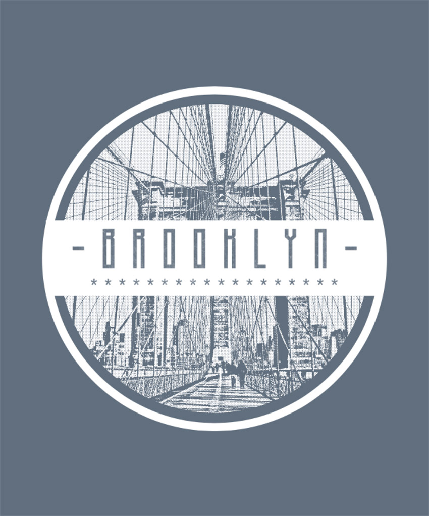 Brooklyn T-Shirt Design Template