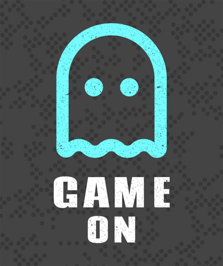 Ghost Geek T-shirt Template