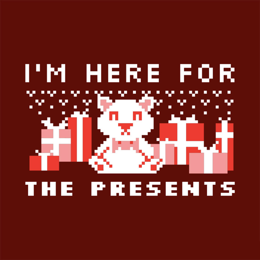 Ugly Christmas Sweater T-Shirt Design Maker