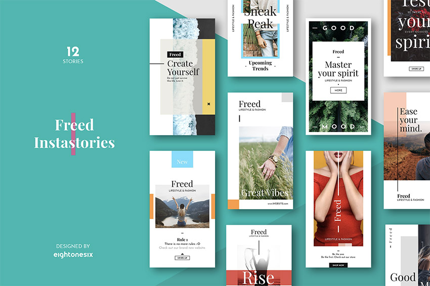 41 Best Instagram Templates Posts Stories Psd And More