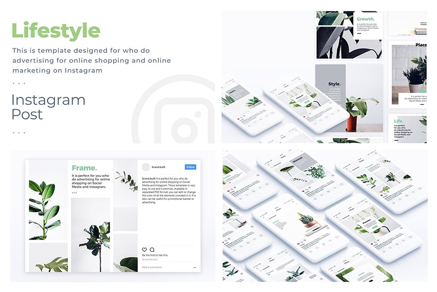Lifestyle Instagram Template
