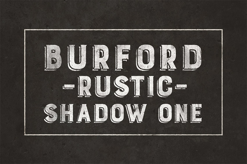 Burford Rustic Shadow One A