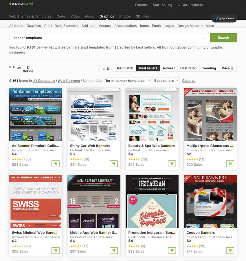 GraphicRiver  Banner Templates
