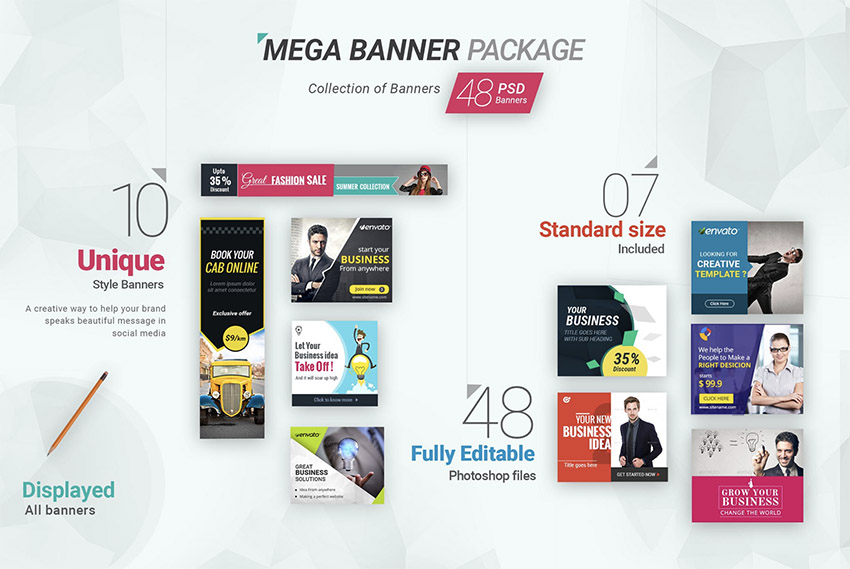Mega Banner Packge - 2