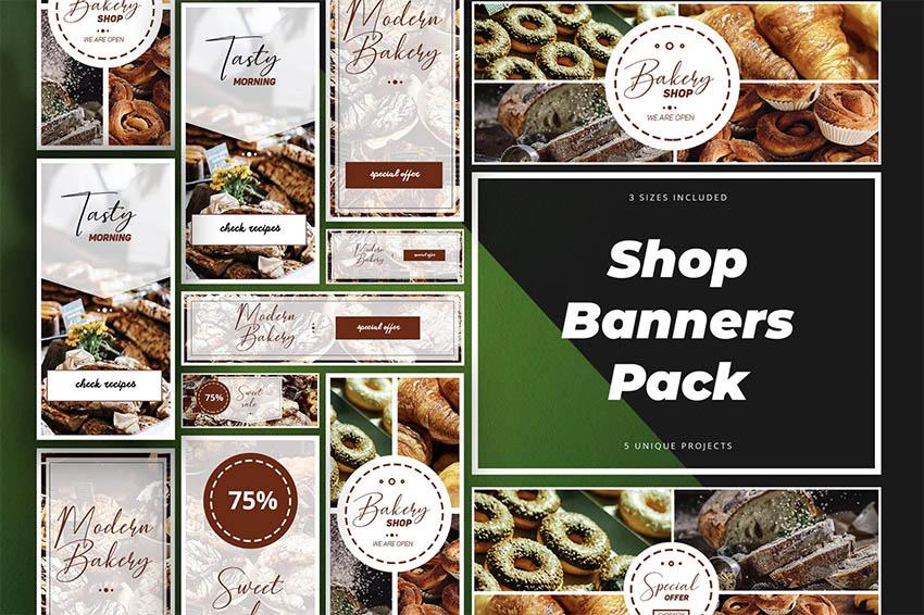 Shop Banner Pack