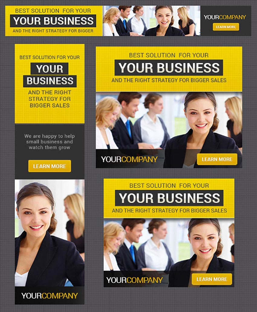 Corporate Banner Design Template 7
