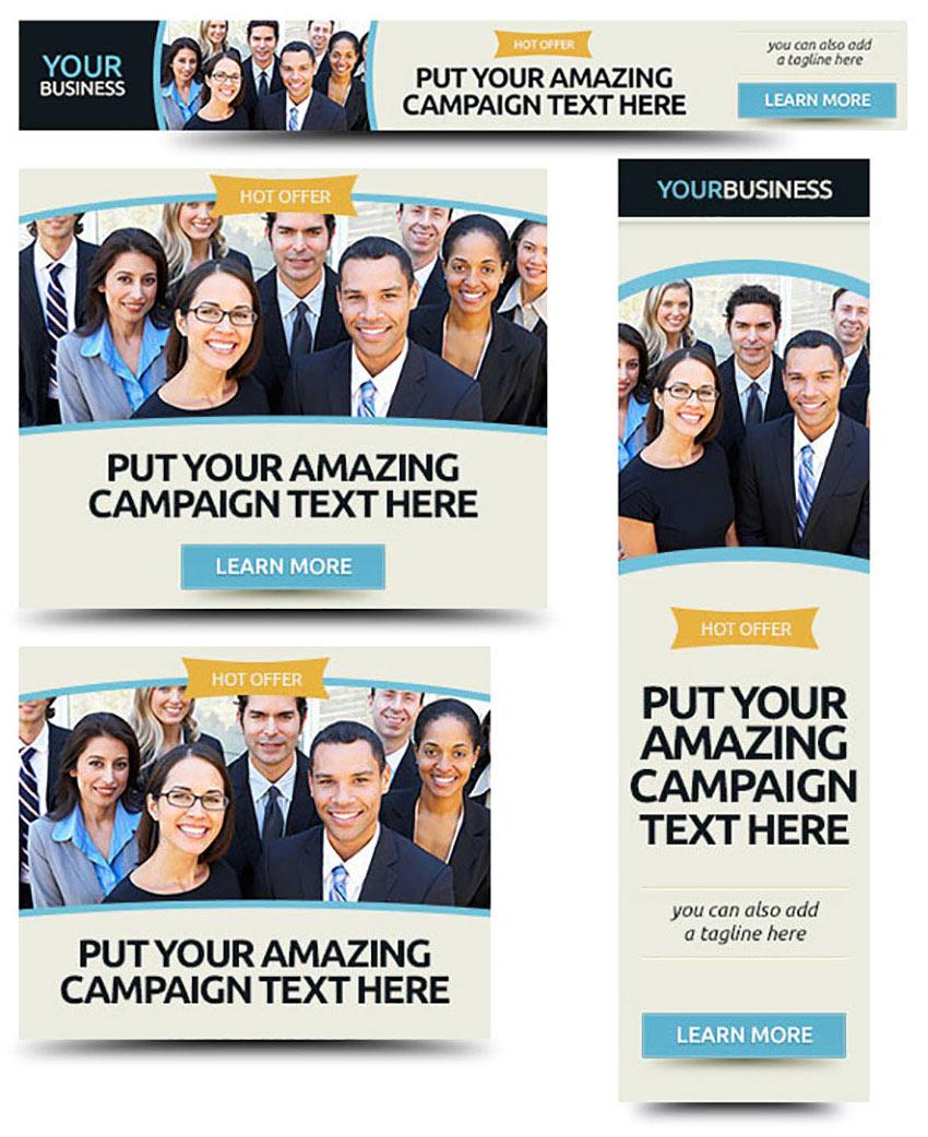 Corporate Web Banner Design Template 37