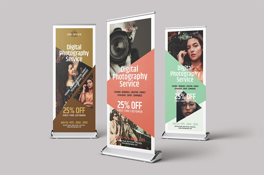 22 Creative Roll Up Banner Designs Templates To Download Now