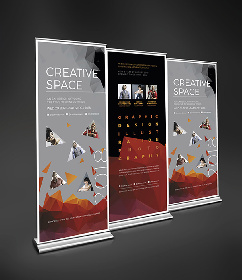 Creative Roll-Up Banners