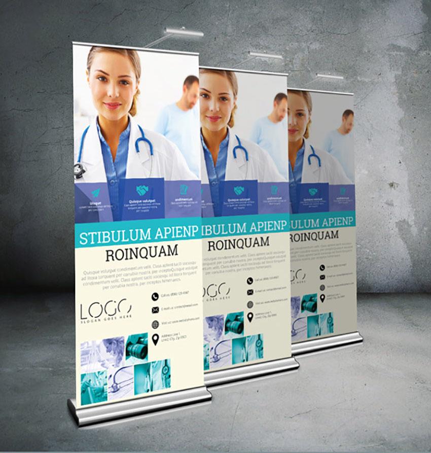 Medical Roll-Up Banner
