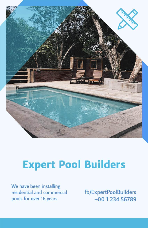 Flyer Maker for Pool Builders