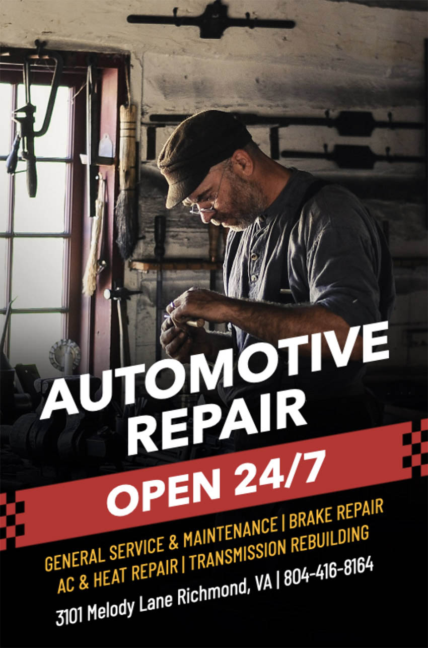 Auto Repair Flyer Maker for Auto Shops