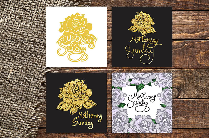 Mothering Sunday Lettering