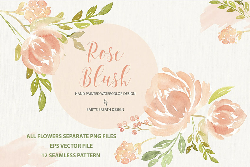 Rose Blush Design