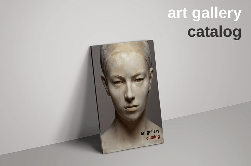 Art Gallery Exhibition Catalog