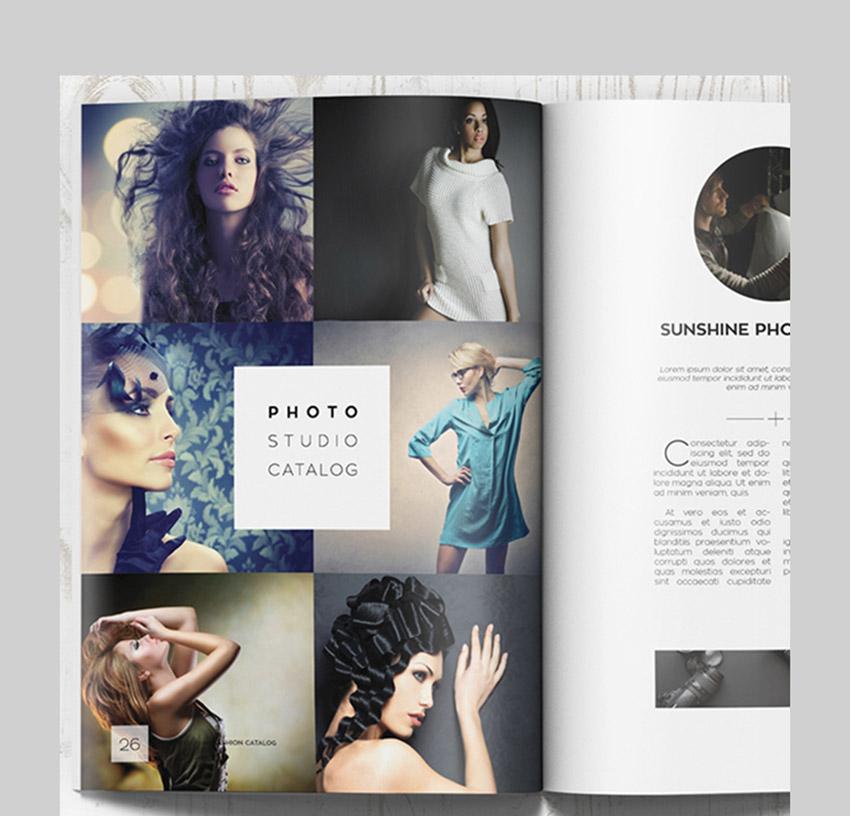 Fashion Photography Catalog Brochure