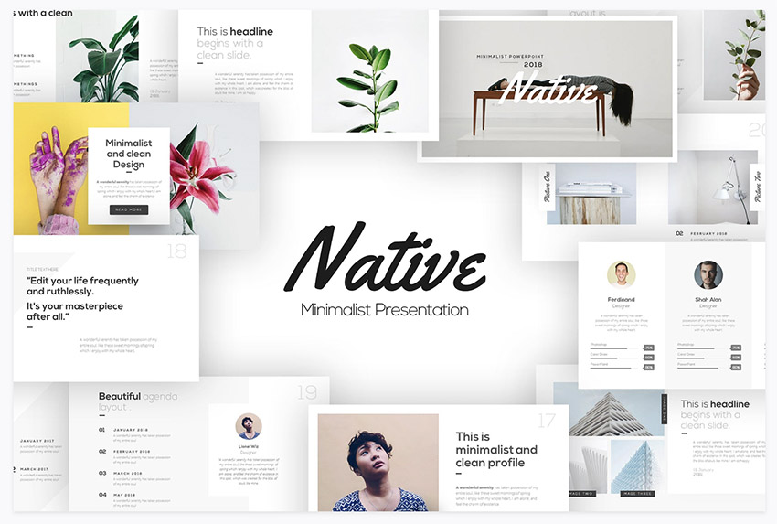 Presentation Deck Template from Envato Elements